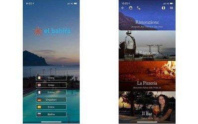 El Bahira Camping Village, più di 2.000 utenti attivi sull'app la scorsa estate.