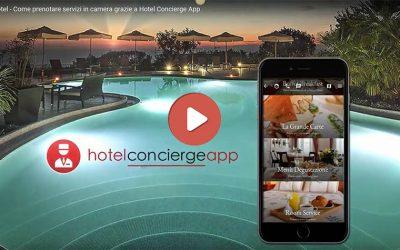 Il Room Service del tuo Hotel gestito tramite App
